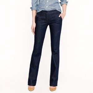 J. Crew Factory blue denim favorite fit trousers 2